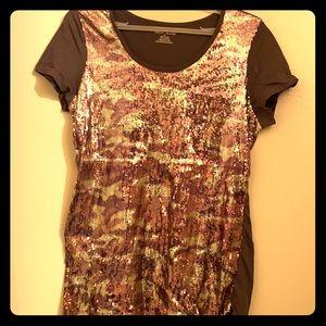 Ladies DKNY sequence tshirt